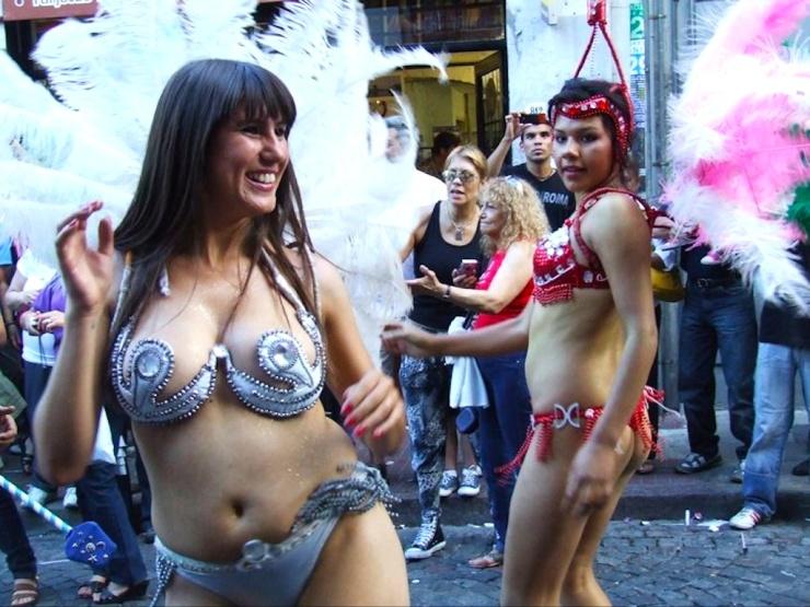 Festival dancers, Buenos Aires