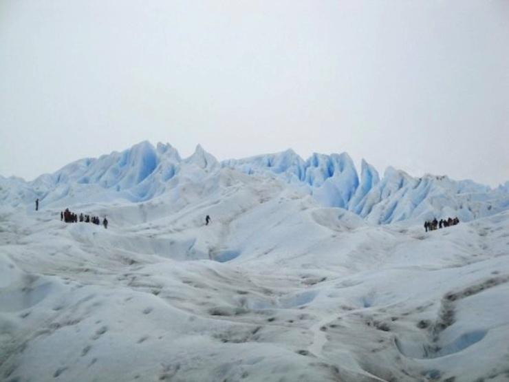 Hikers, Patagonia, Argentina
